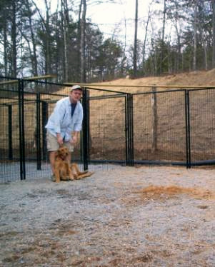 Peaceful Haven Dog Kennel